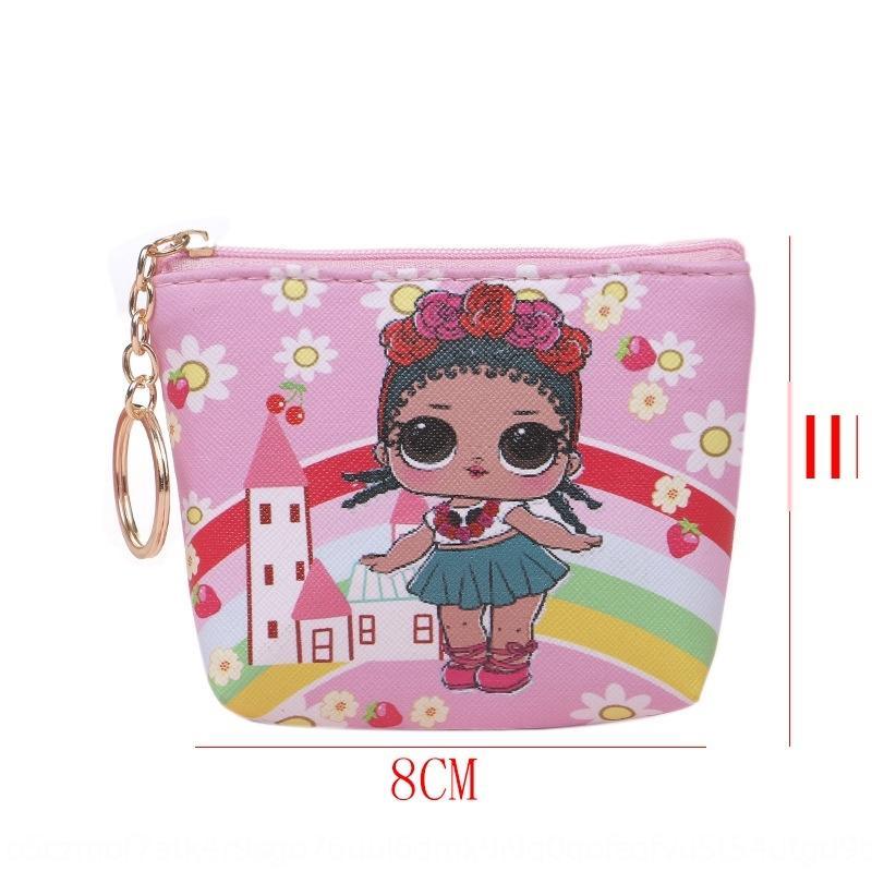 Yeni Japon ve Kore karikatür bagwallet çanta kız şirin mini bozuk para cüzdanı yaratıcı küçük kız sikke çanta
