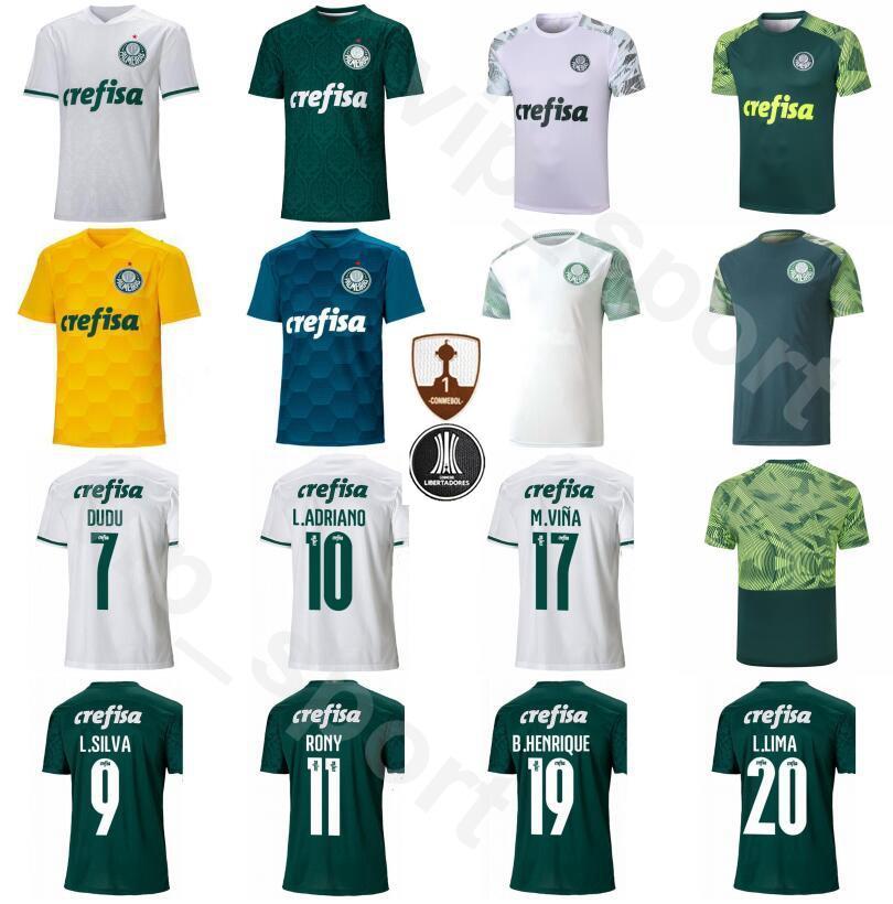 Acquista 2020 2021 Palmeiras Soccer Jersey 29 WILLIAN 7 DUDU 8 ZE RAFAEL 15 GOMEZ 20 Lucas Lima Verde Bianco Calcio Camicia Corredi Uniformi A 12,49 € ...