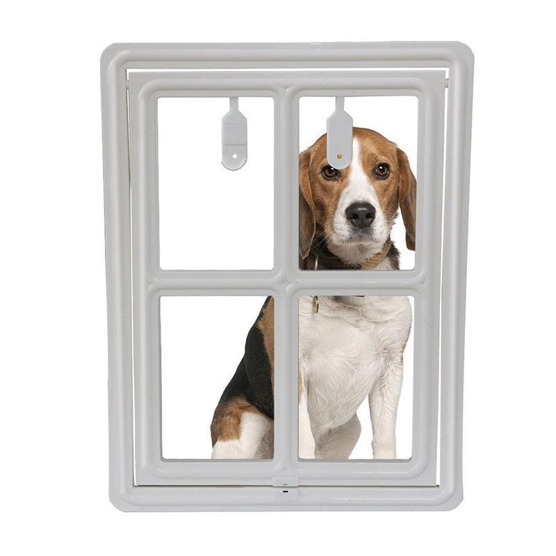 Porta de Tela Dog Pet com disco armação de plástico durável para cães filhotes Cats-30