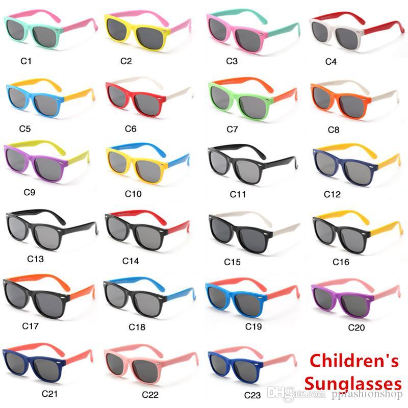 جديد الرضع النظارات الشمسية النظارات الشمسية المستقطبة المألوف الطفل بنين بنات أطفال نظارات uv400 ظلال نظارات نظارات الرضع الطفل