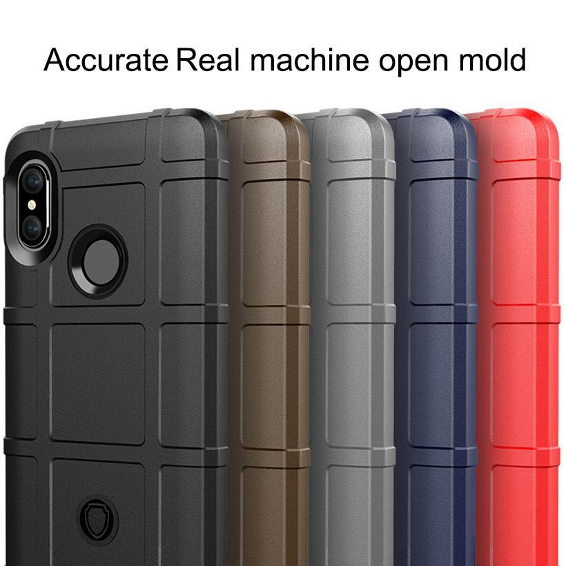 Armatura Heavy Duty opaca del telefono del silicone di caso per Xiaomi 9 redmi nota 7 6 K20 Pro gioco SE copertura F1 PocoPhone