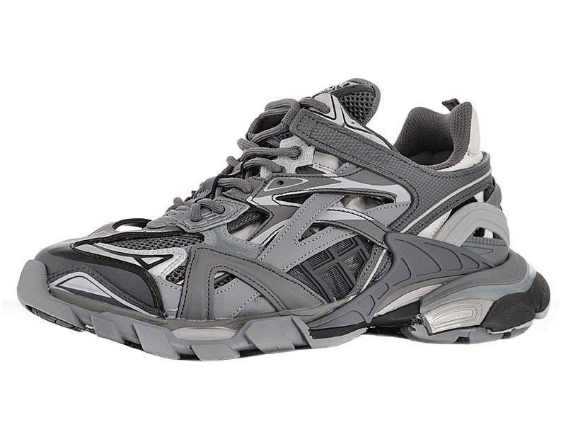 TRACK.2 SNEAKER for Men's Track 2 Sneakers Mens Luxury Sports Shoes Women's Designer Chunky Chaussures Womens Tess Gomma Treks Brand Triple