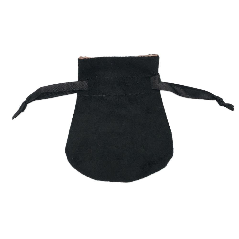 Borse in velluto nero Adatte di perline in stile Pandora europeo charms e braccialetti collane collane gioielli moda pendente