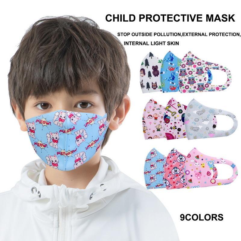 Toz Maskesi 100 Yüz Adet Karşıtı Yetişkin Çocuk Ağız Kapak maskesi PM2.5 toz geçirmez anti-bakteriyel Yıkanabilir Yeniden kullanılabilir Sünger Koruyucu Maskeler 12