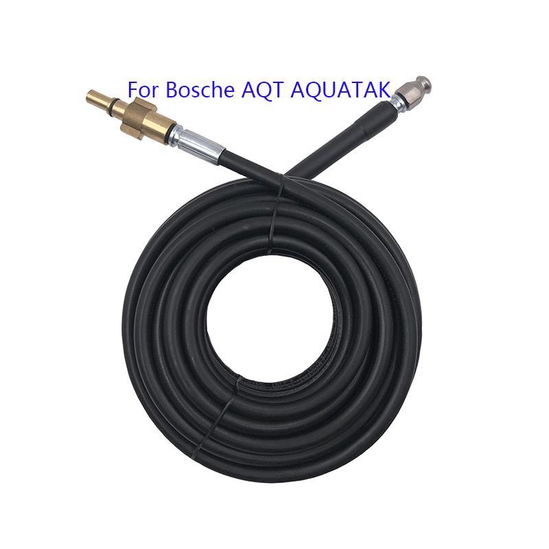 Bosche AQT Aquatak Yüksek Basınçlı Yıkayıcılar 10 15 20 metre Sıcak Satış Kanalizasyon Drenaj Su Temizleme Hortum