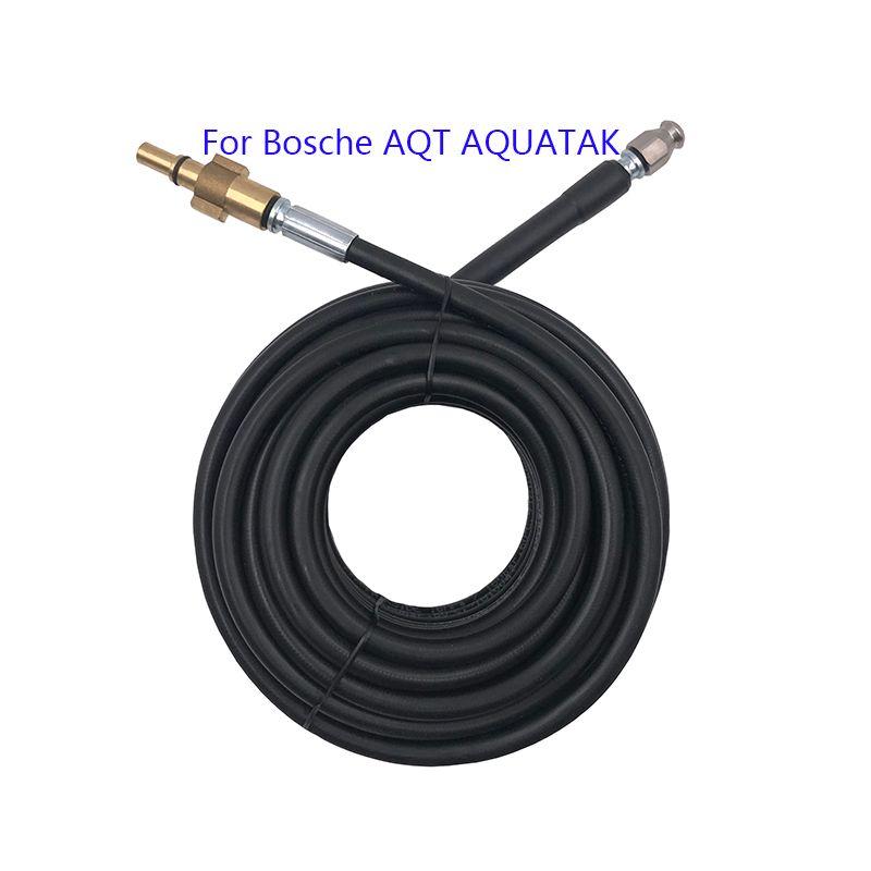10 15 20 метров горячее Канализационные Drain Очистка воды Шланг для Bosche AQT Aquatak Стиральные машины высокого давления