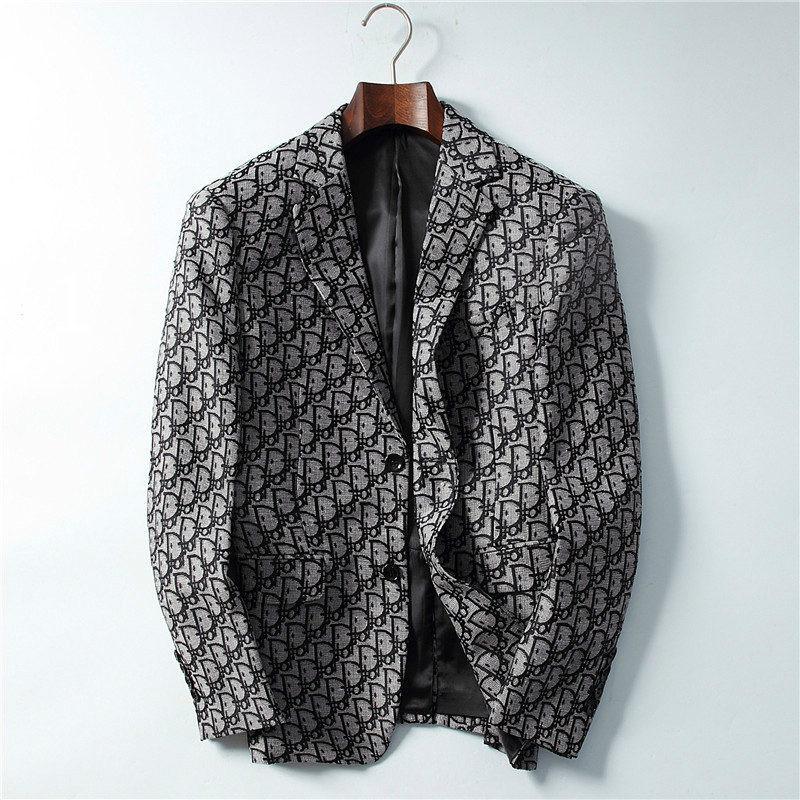 Herren Designer-Anzüge Blazer Italien Paris Männer Luxusjacke Marke Langarm Mode Jacken Herren Jackett elegantes Brautkleid B100910K