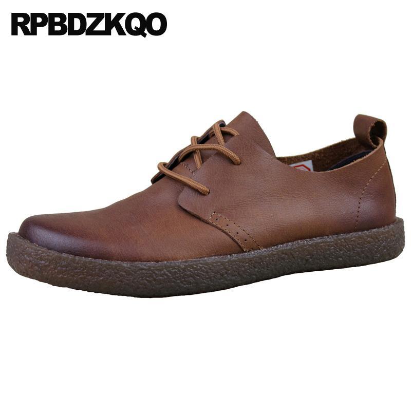 encajes pista ocasional europeo de vaca por pliego, zapatos Oxford 2019 cuero genuino marrón Italia reales zapatos para hombre Marcas italianas azul