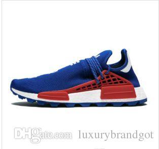 Human Race running running shoes for men women pharrell williams NERD BLACK white black blue green cream mens trainer sports sneakers