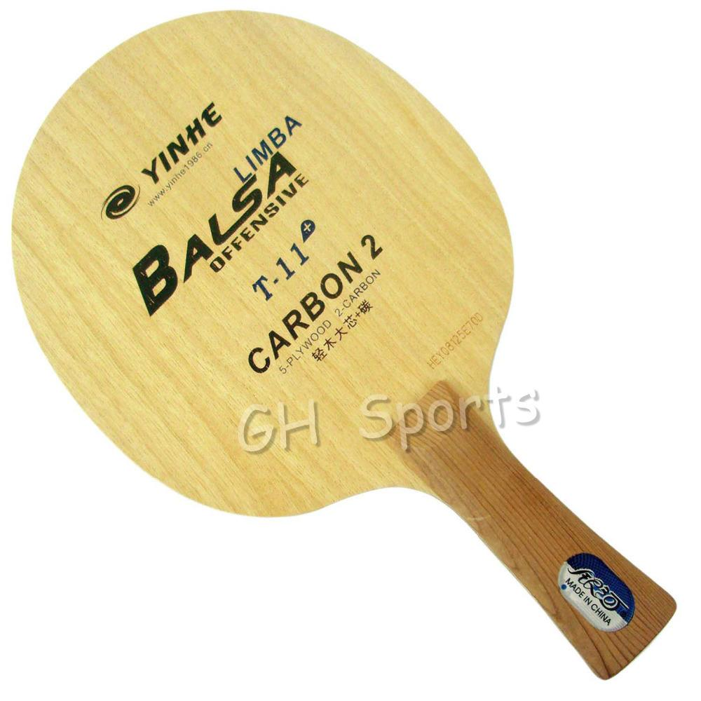 Galaxy Milky Way Yinhe T-11+ T 11+ T11+ Limba Balsa OFF Table Tennis Blade for PingPong Racket T200410