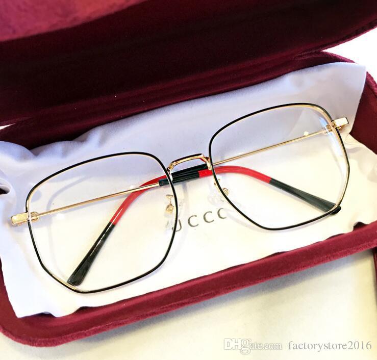 2019 Gafas de diseñador de lujo para hombres Mujeres Accesorios de gafas vintage Gafas de sol