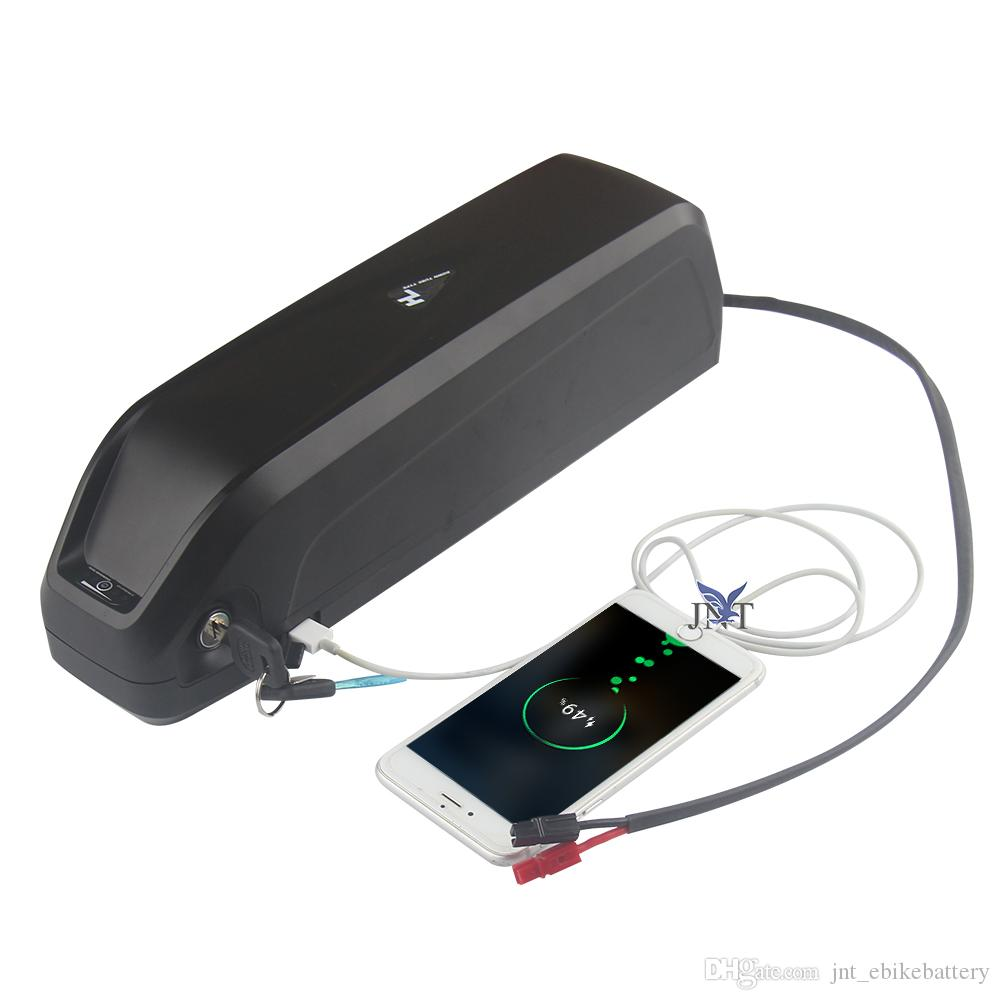 Mit 5V USB-Buchse und Netzschalter 48V 17AH e Fahrradbatterie Tiefzirkulation 18650 für 650W bis 1000W Gleichstrommotor