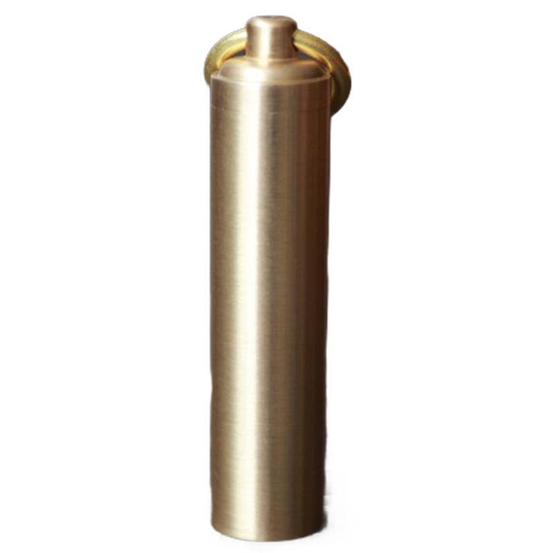 EDC Sealed Box Brass Outdoor Tools Mini Metal Gear Storage Seal Up Bin Water Proof Tank Fresh Box New Design 4 5ytH1