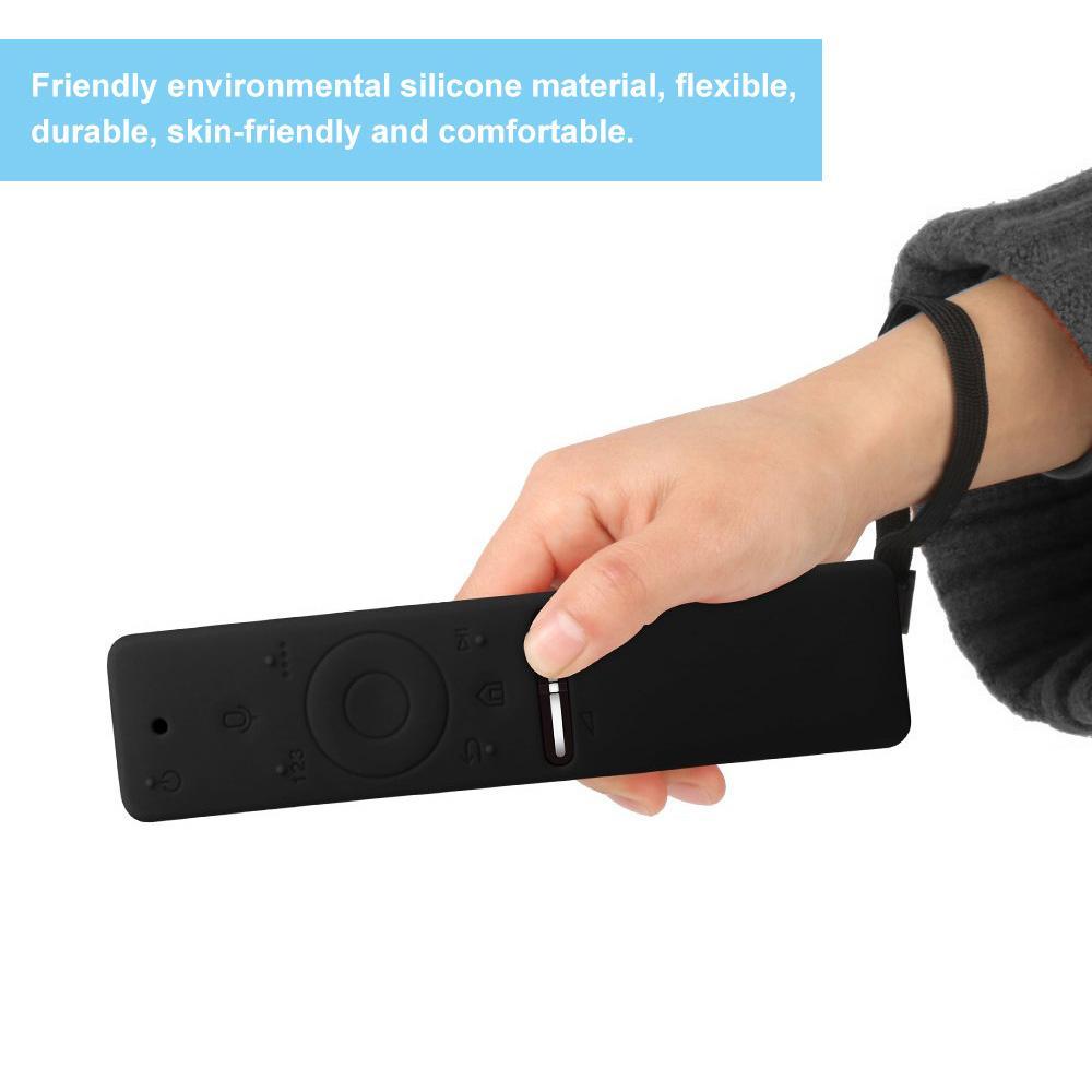 Мягкий силиконовый защитный чехол Remote Красочная обложка чехол для Samsung Smart TV Voice Версия дистанционного управления Set