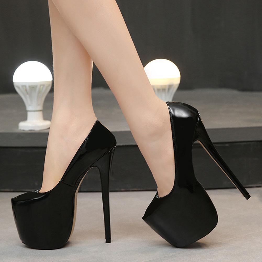 Sarairis 2020 nueva moda súper fino tacones altos Slip-On fiesta Zapatos de Plataforma de mujer Plataforma PRIMAVERA / Otoño Zapatos de mujer