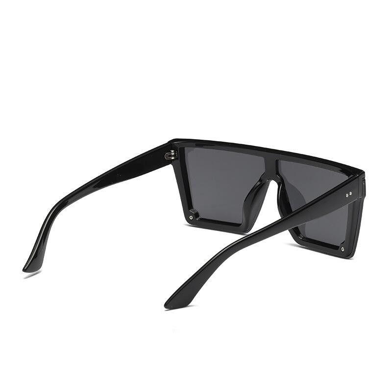 Gläser Square Sonnenbrille Männer Frauen Flache Schattierungen Objektiv Eine für Stück Sun Übergroße Mode Frauen Markenspiegel Top 2021 KSagV