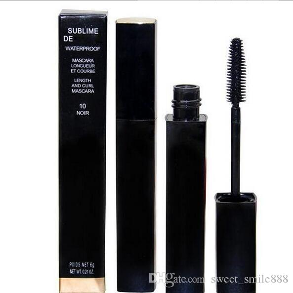 FREE SHIPPING MAKEUP Lowest Best-Selling good sale Newest Products liquid MASCARA 6g black 6pcs/lot