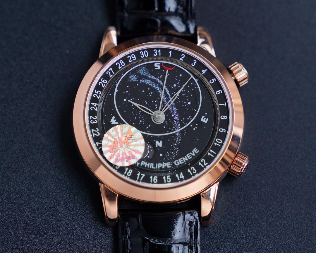 Это роскошные Женевские часы 2018 года Star9015 с высокой люминесценцией и 43-миллиметровым механизмом, спроектированным как высококачественный многофункциональный автоматический w