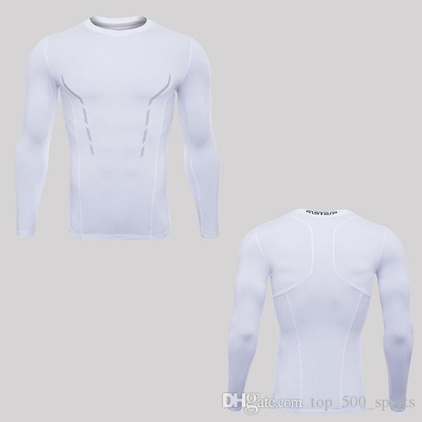 달리기 셔츠 건조한 착용 망 체육관 의류 스쿠프 넥 긴 소매 QLTTY DRI 속옷 바디 빌딩 SUIIT 폴리 에스터 의류