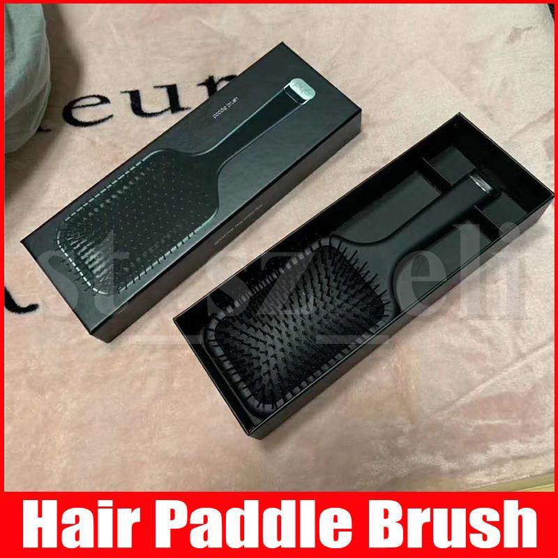 Paddle Brush Detangling Smoothing Hair Combs Hairbrush Hairdressing Combs Hair Care Tools Good Hair Day Everyday with box