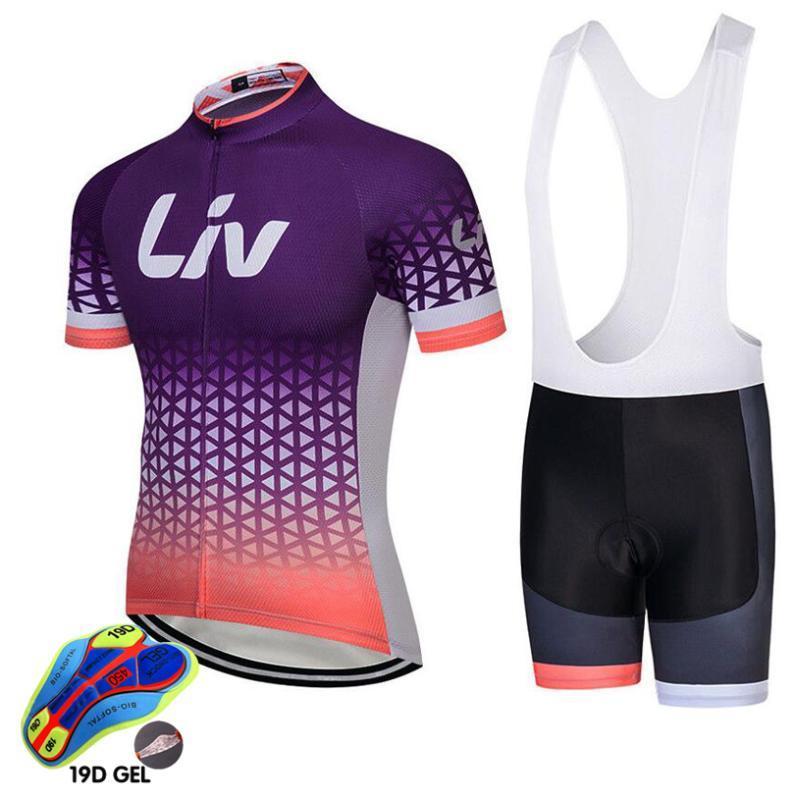 езда на велосипеде женщина одежды лив 2020 одежд велосипед Quick-Dry Одежда Ropa Ciclismo Uniformes Майо Спортивная одежда для велоспорта наборы