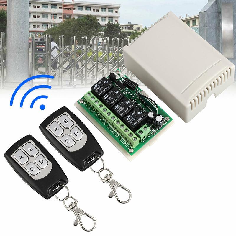 أداة التحكم عن بعد جهاز التقوية 4 قناة الذكية اللاسلكية تبديل المرآب