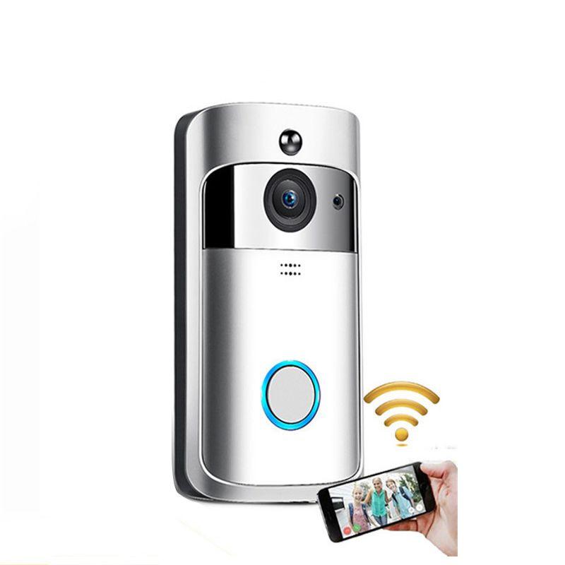 Neue Smart Home M3 Wireless Camera Video Türklingel WiFi Ring Türklingel Home Security Smartphone Fernüberwachung Alarm Türsensor Epacket