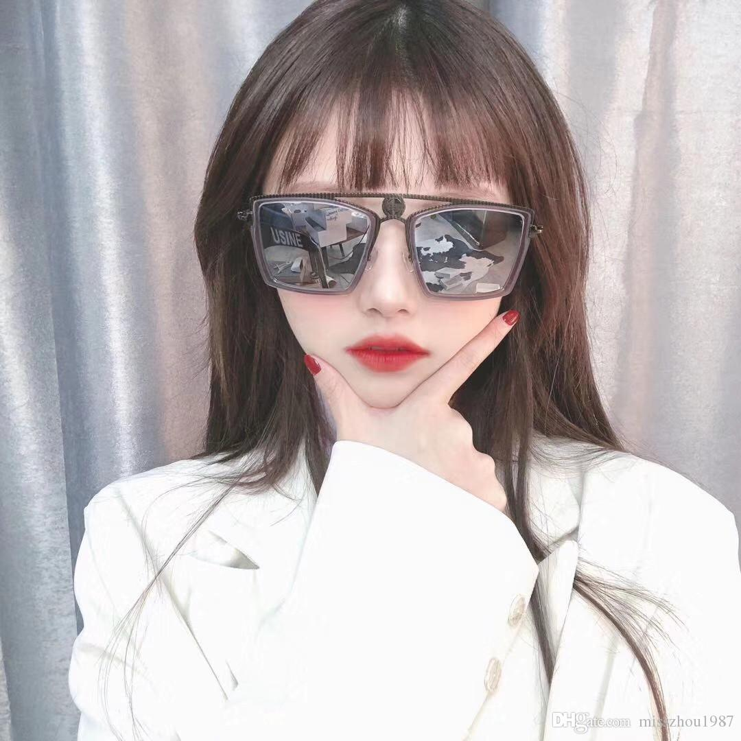 Luxo 6053 Quadro óculos escuros de grife para homens e das mulheres do estilo dobrável Verão Retângulo completa Top Quality Proteção UV vindo com caso