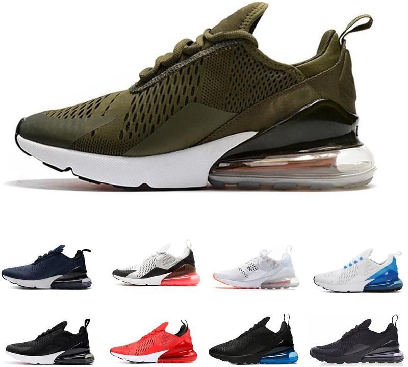 Nike Air Max 270  Hococal 2020 Uomo Donna 27C Teal all'aperto scarpe 2 stelle Mens Flair Triple Nero bianco blu 27C allenatore sportivo 27S scarpa da corsa scarpe da tennis 36-45
