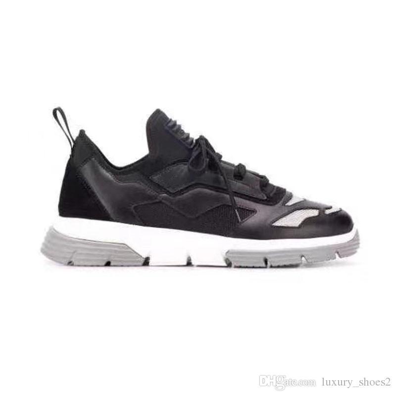 Las zapatillas de deporte de la moda de la moda hombres atléticos Declaración de Lo-top Calzado Calzado casual zapatos para hombre ocio al aire libre UI9