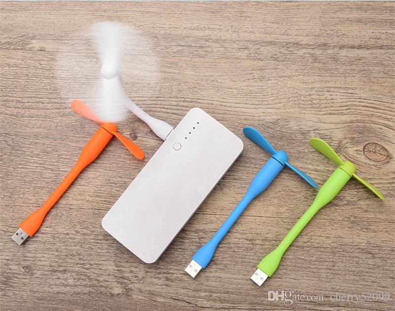 Новое поступление горячие продажи Портативный мини-USB вентилятор Вентилятор заряда портативный банк питания вентилятор для ПК ноутбук рабочий стол