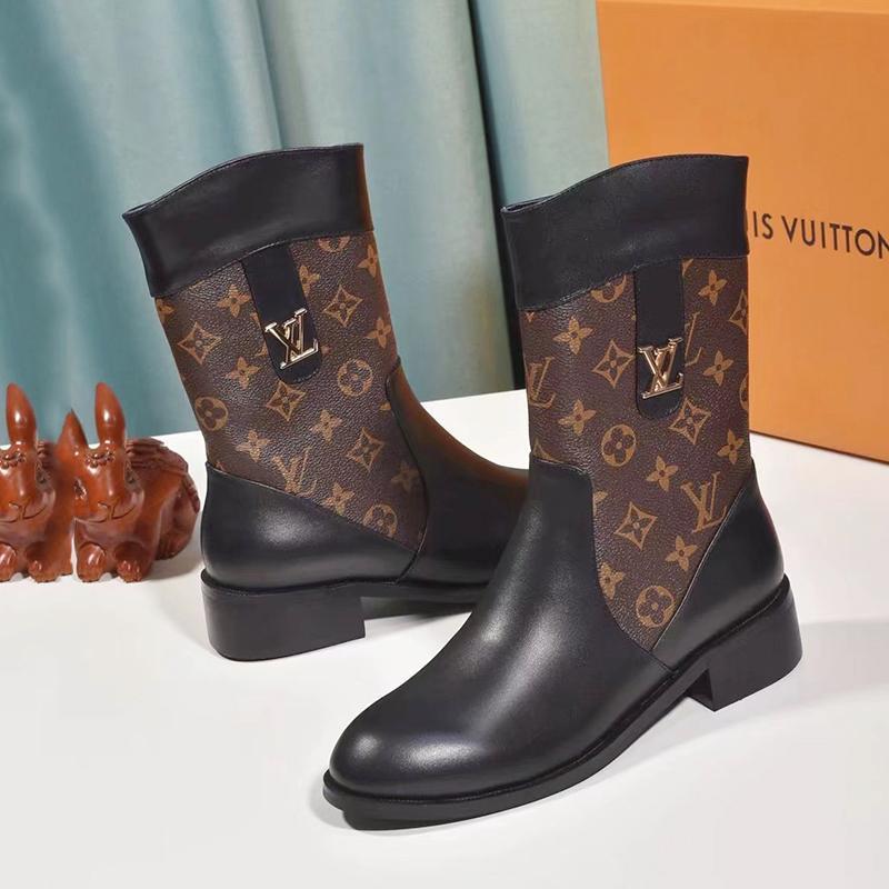 louis vuitton women's boots