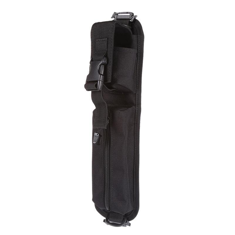 600D exterior Molle Bolsa de accesorios Mochila correa de hombro bolsa de Caza Herramientas bolsa bolsa de accesorios Negro