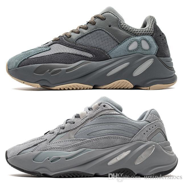 Encontrar azul Teal 700 Kanye West Shoes Vanta Hospital Utility Preto sneaker pai, Loja 700 v2 Inércia Tephra corredor da onda Reflective DHgate loja