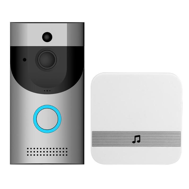 2020 جديد الذكية اللاسلكية wiFi الجرس فيديو الجرس كاميرا ir الدائري باب جرس اتجاهين الصوت التطبيق التحكم ios android الرئيسية نظام المنزل الذكي