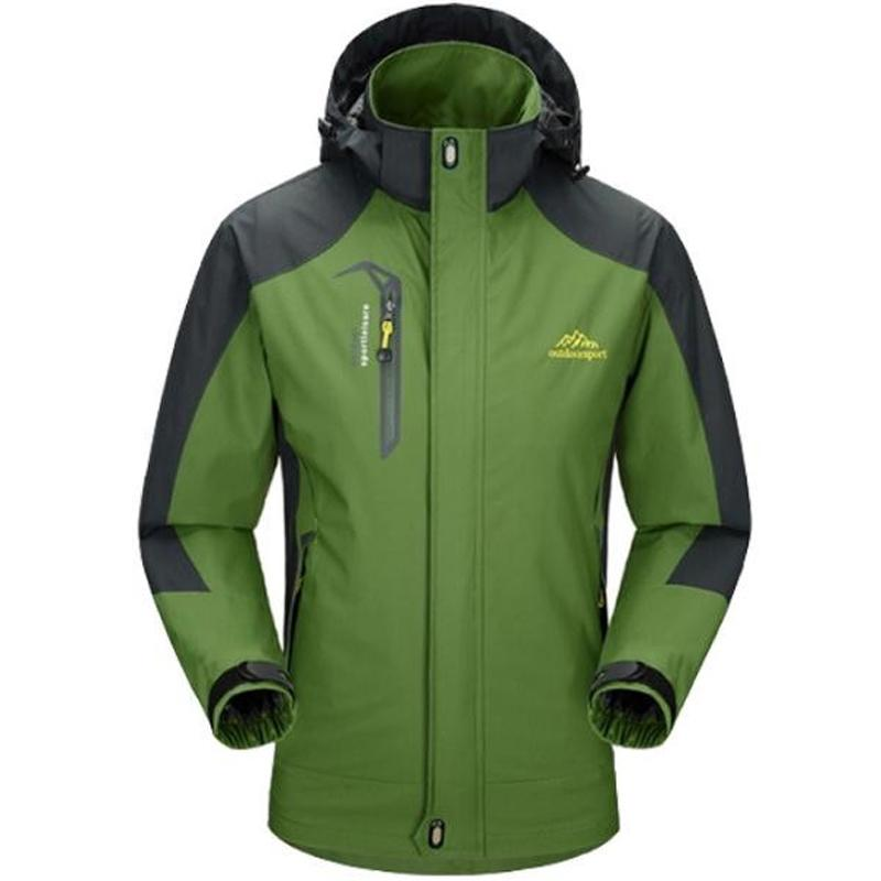 Homens jaqueta impermeável à prova de vento respirável Mens jaquetas e casacos Windbreak Coats Plus Size 4XL 5XL Jaqueta masculina