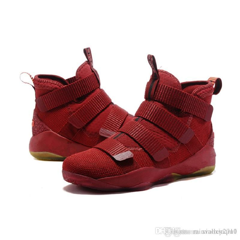finest selection 4e162 e5385 2019 Lebron Soldier 11 XI Shoes Mens Basketball For Sale Christmas BHM Oreo  Youth Kids Sneakers Boots With Original Box Size 7 12 From Rainvalley2010,  ...