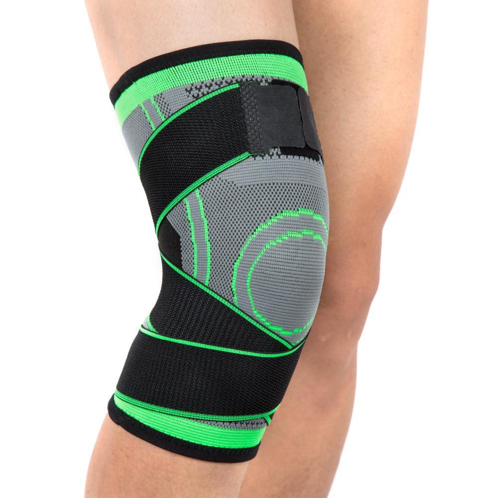 2020 Sports Knee Support Elastic Bandage Compression Knee