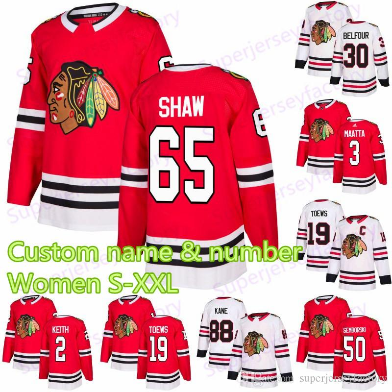 Chandail des Blackhawks de Chicago, 65 ans, Andrew Shaw 88 Patrick Kane 9 Jonathan Toews 17 Dylan Strome 19 Jonathan Toews 12 Chandails de hockey DeBrinca