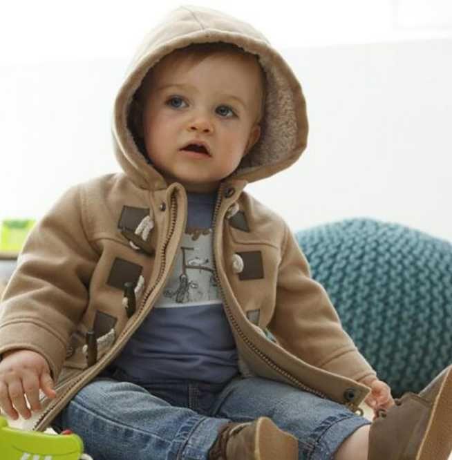 2020 Kızlar Palto Gerçek Kürk Kapşonlu Bebek Boys Ceketler Beyaz Ördek Aşağı Sıcak Çocuk Outrewear Moda Çocuk Kar Giyim