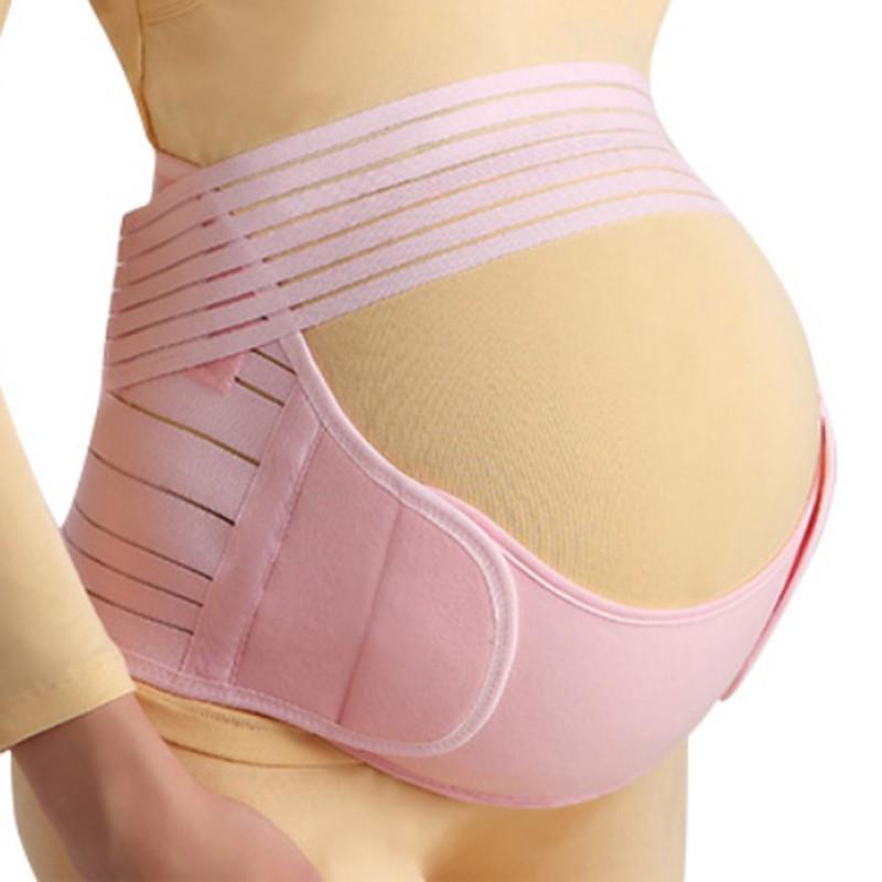 المرأة حزام الحمل قبل الولادة الأمومة فرق البطن دعم الخصر العناية العودة ضمادة رياضية للنساء الحوامل