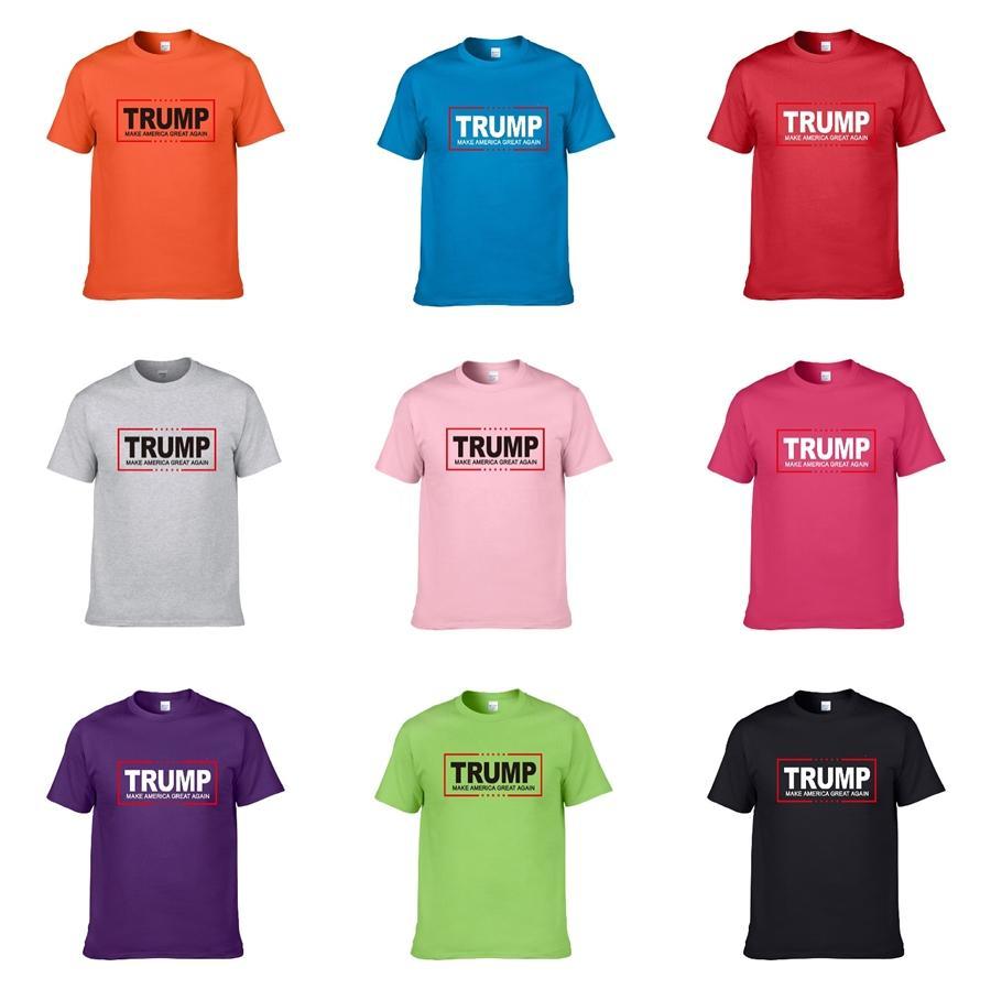 Yüz Dekorasyon Trump T Gömlek Bize Boyut tişörtleri ~ Mens Tasarımcısı Kısa Kollu Trump Tişörtlü Gülen 2020 Yaz Yeni Fasion Erkek Lüks Tasarımcı