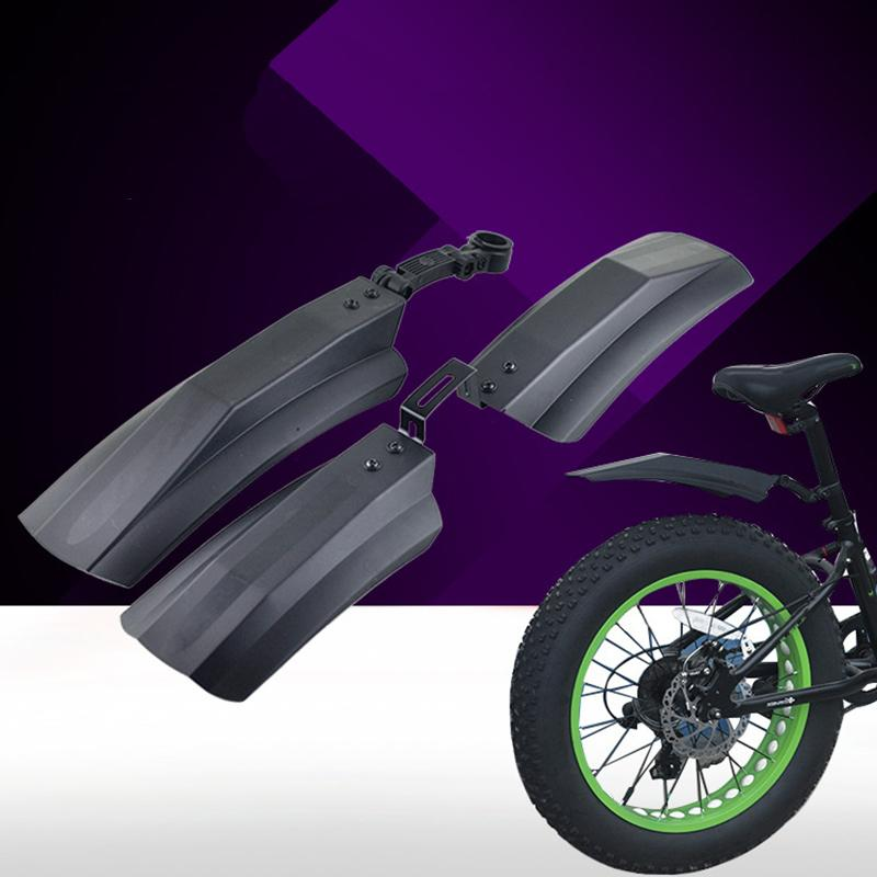 Снежный велосипед передние задние брызговики для 26 Mtb Велоспорт черный