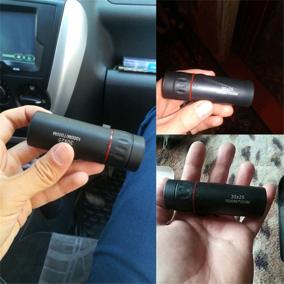 fort grossissement portable extérieur monoculaire 30x25 militaire mini portable étanche 8 fois miroir gamme de chasse de Voyage
