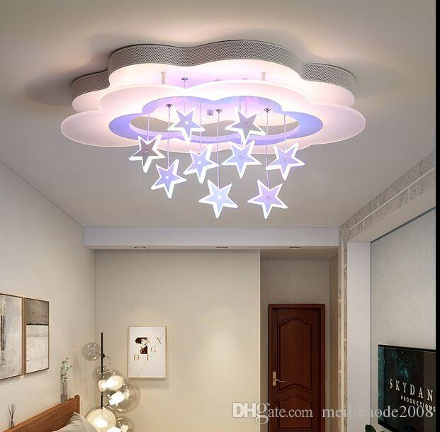 2021 Ceiling Light Simple Bedroom Lights For Children Room Kids White Ac85 265v Dimming Remote Control Modern Led Ceiling Lamp Myy From Meilibaode2008 175 52 Dhgate Com