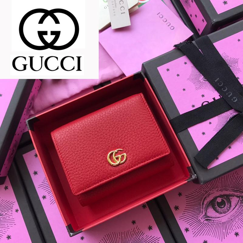 dfkjhldfk ZXLI M474746 Red Litchi Simple Wallet REAL LEATHER Compact Long Chain Wallet Key Card Holders Phone PURSE CLUTCHES
