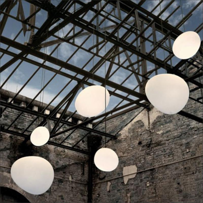 Modern Glass luci a sospensione Italia Foscarini Gregg sospensione lampada a sospensione lampada Led irregolare Sala da pranzo Cucina Loft Light Fixture