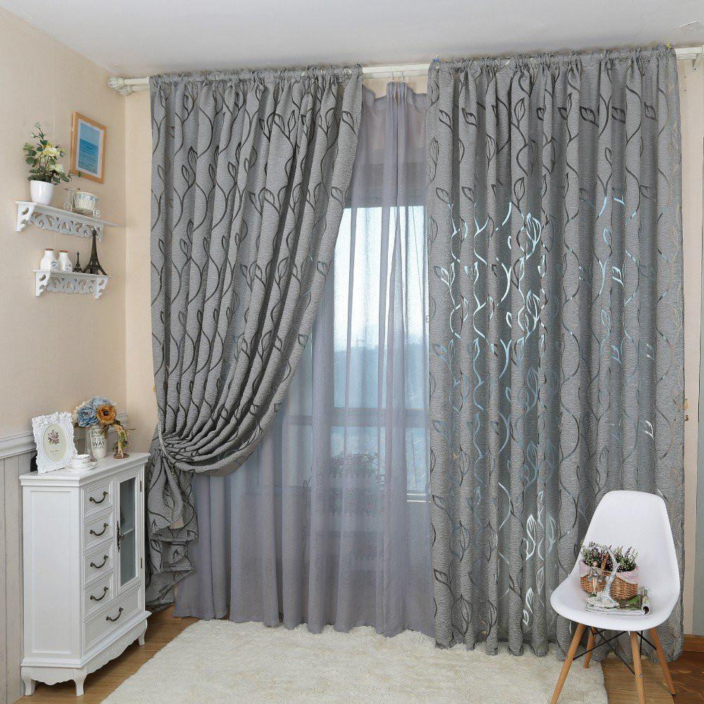 Hot Flowers curtain living room balcony bedroom Door Window Curtain Valances UK