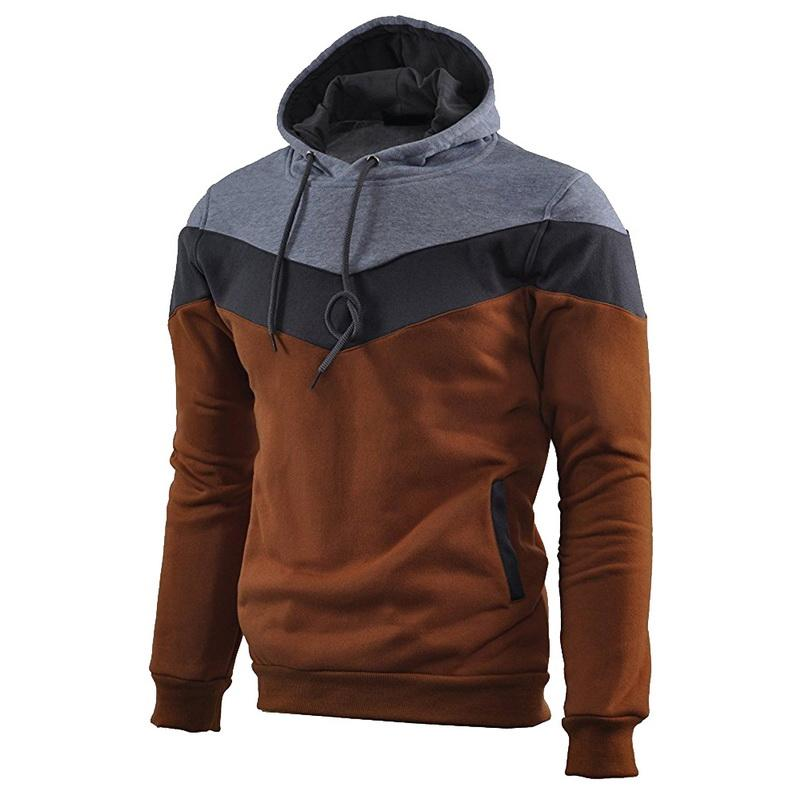 Slim Brochage Homme Sweat à capuche Hoodies Casual Pull Fashion Sweatershirts mince Sweatershirts hommes pour les hommes