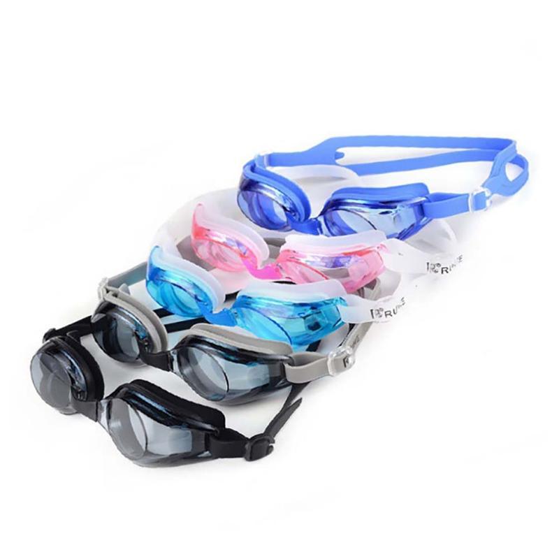 Yüzme Gözlükler Yetişkin Gençler Nedensel Anti-sis UV Koruma Gözlük Eğitim Gözlük Spor Aksesuarları